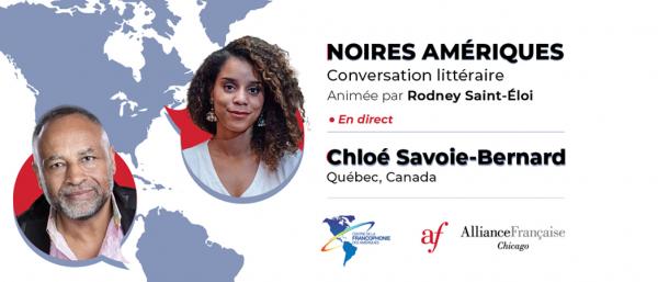 Noires Amériques :  Chloé Savoie-Bernard