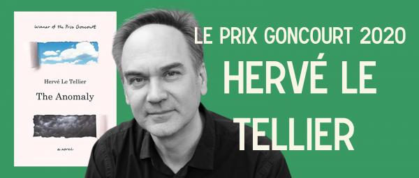 AVEC L'AUTEUR : Hervé Le Tellier, Prix Goncourt