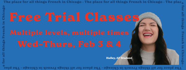 Free Trial Classes - Winter 2021