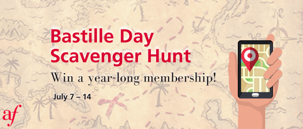 Bastille Day Scavenger Hunt