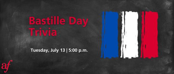 Bastille Day Trivia