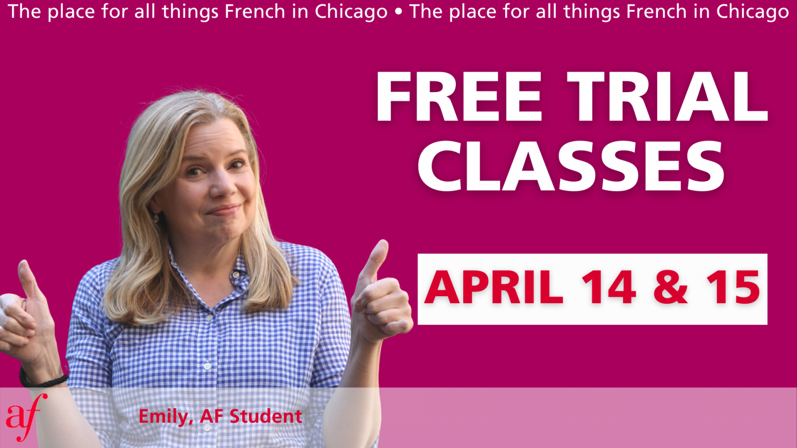 Free Trial Classes - Spring 2021