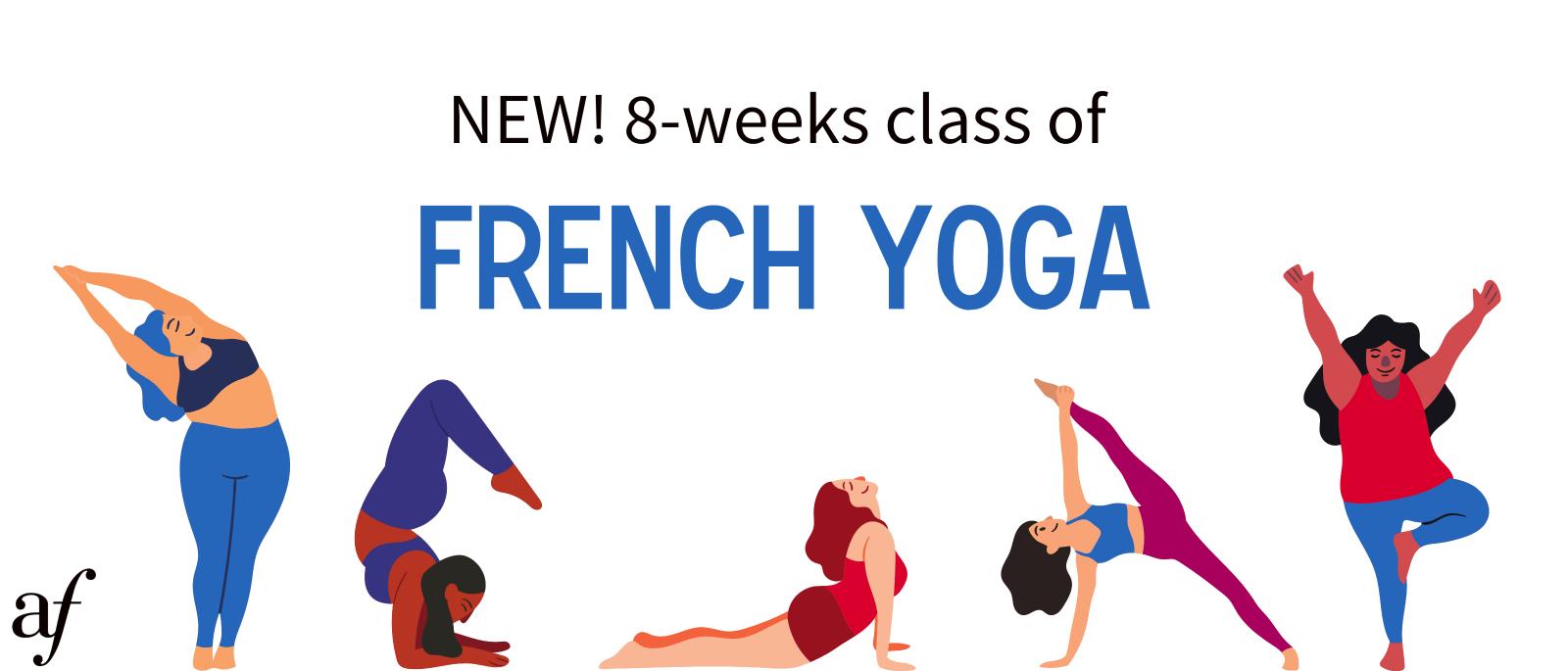 On-site French Yoga   Yoga en Français