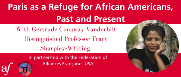 Paris as a Refuge w/Tracy Sharpley-Whiting