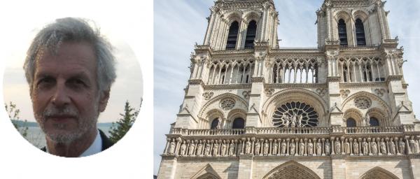 The rebuilding of Notre Dame de Paris