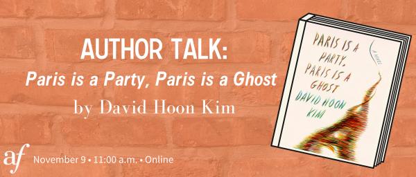 Author Talk: David Hoon Kim