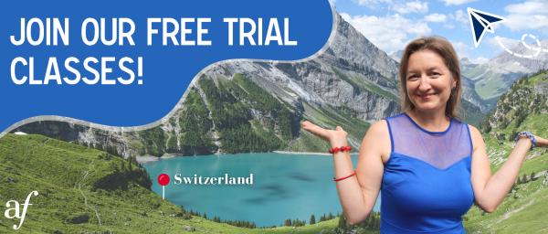 Free Trial Classes • Fall 2021