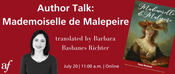 Author Talk:  Mademoiselle de Malepeire