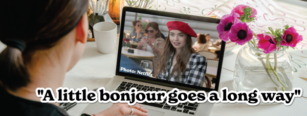 """A little bonjour goes a long way"""