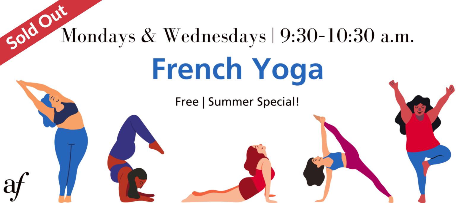 Free French Yoga   Yoga Gratuit en Français